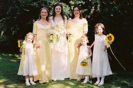 catrionas bridal party